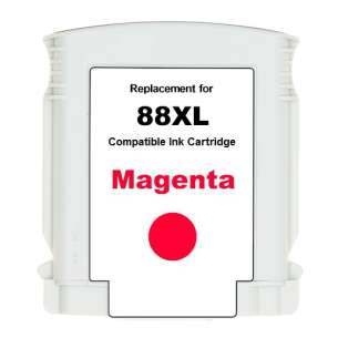 Remanufactured HP C9392AN (HP 88XL ink) inkjet cartridge - high capacity magenta