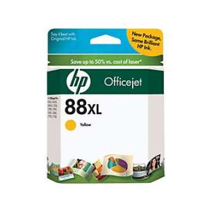 Original Hewlett Packard (HP) C9393AN (HP 88XL ink) inkjet cartridge - high capacity yellow