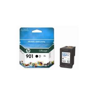 Original Hewlett Packard (HP) CC653A (HP 901 ink) inkjet cartridge - black cartridge