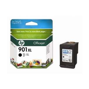 Original Hewlett Packard (HP) CC654AN (HP 901XL ink) inkjet cartridge - high capacity black