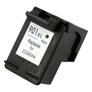 Remanufactured HP CC654AN (HP 901XL ink) inkjet cartridge - high capacity black