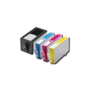Remanufactured inkjet cartridges Multipack for HP 902XL - 4 pack