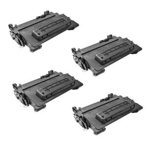 Compatible Atlantic Inkjet Canada HP CE390X (90X) toner cartridges - 4-pack