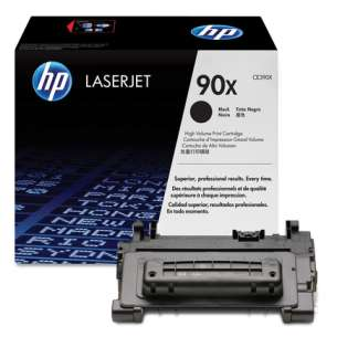 Original Hewlett Packard (HP) CE390X (90X) toner cartridge - high capacity black