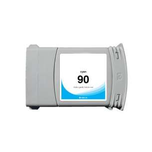 Remanufactured HP C5061A (HP 90XL ink) inkjet cartridge - high capacity cyan