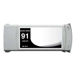Remanufactured HP C9465A (HP 91 ink) inkjet cartridge - photo black