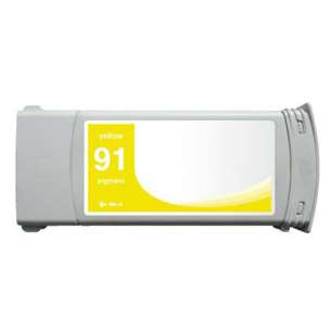 Remanufactured HP C9469A (HP 91 ink) inkjet cartridge - yellow