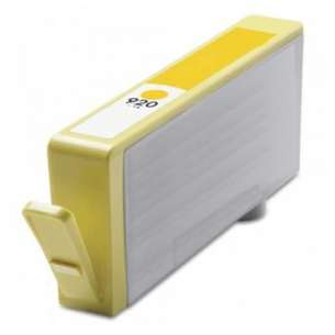 Remanufactured HP CH636AN (HP 920 ink) inkjet cartridge - yellow