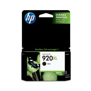 Original Hewlett Packard (HP) CD975AN (HP 920XL ink) inkjet cartridge - high capacity black