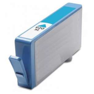 Remanufactured HP CD972AN (HP 920XL ink) inkjet cartridge - high capacity cyan