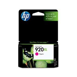 Original Hewlett Packard (HP) CD973AN (HP 920XL ink) inkjet cartridge - high capacity magenta