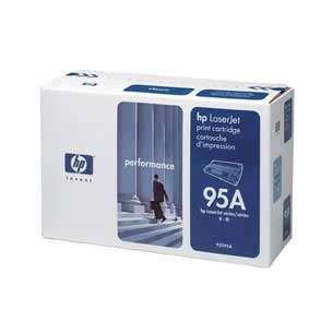 Original Hewlett Packard (HP) 92295A (95A) toner cartridge - black cartridge