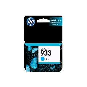 Original Hewlett Packard (HP) CN058AN (HP 933 ink) inkjet cartridge - cyan