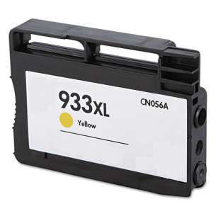 Remanufactured HP CN056AN (HP 933XL ink) inkjet cartridge - high capacity yellow