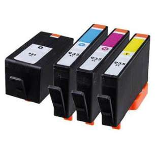Remanufactured inkjet cartridges Multipack for HP 934XL/935XL - 4 pack