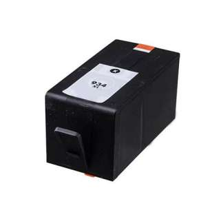 Remanufactured HP C2P23AN (HP 934XL ink) inkjet cartridge - high capacity black