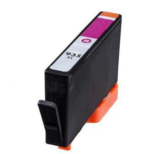 Remanufactured HP C2P25AN (HP 935XL ink) inkjet cartridge - high capacity magenta