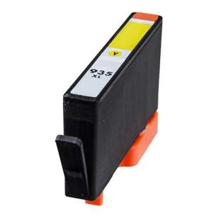 Remanufactured HP C2P26AN (HP 935XL ink) inkjet cartridge - high capacity yellow