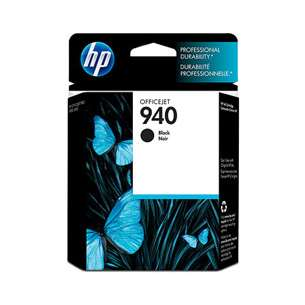 Original Hewlett Packard (HP) C4902AN (HP 940 ink) inkjet cartridge - black cartridge