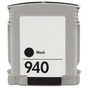 Remanufactured HP C4902AN (HP 940 ink) inkjet cartridge - black cartridge