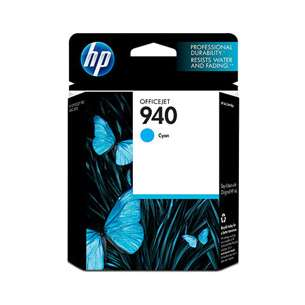 Original Hewlett Packard (HP) C4903AN (HP 940 ink) inkjet cartridge - cyan