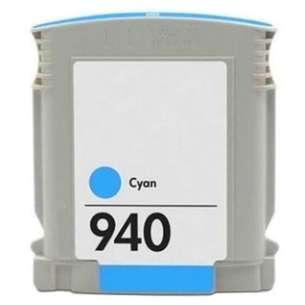Remanufactured HP C4903AN (HP 940 ink) inkjet cartridge - cyan