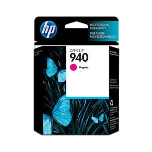 Original Hewlett Packard (HP) C4904AN (HP 940 ink) inkjet cartridge - magenta