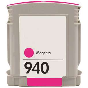 Remanufactured HP C4904AN (HP 940 ink) inkjet cartridge - magenta
