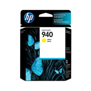 Original Hewlett Packard (HP) C4905AN (HP 940 ink) inkjet cartridge - yellow