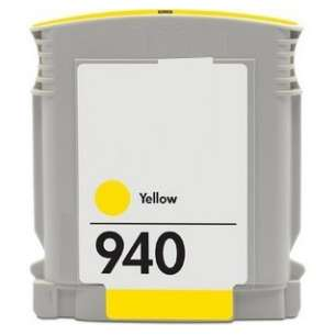 Remanufactured HP C4905AN (HP 940 ink) inkjet cartridge - yellow