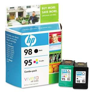 Original Hewlett Packard (HP) CB327FN (HP 95/98) Multipack - 2 pack