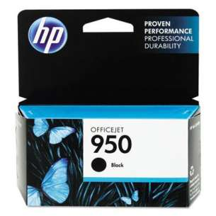 Original Hewlett Packard (HP) CN049AN (HP 950 ink) inkjet cartridge - black cartridge