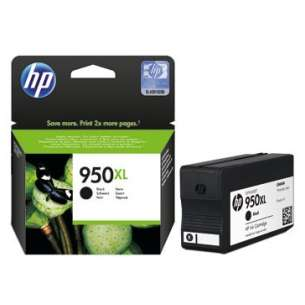 Original Hewlett Packard (HP) CN045AN (HP 950XL ink) inkjet cartridge - black cartridge