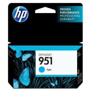 Original Hewlett Packard (HP) CN050AN (HP 951 ink) inkjet cartridge - cyan