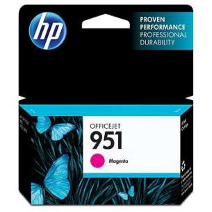 Original Hewlett Packard (HP) CN051AN (HP 951 ink) inkjet cartridge - magenta