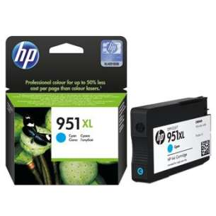 Original Hewlett Packard (HP) CN046AN (HP 951XL ink) inkjet cartridge - cyan