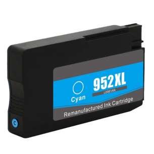 Remanufactured HP L0S61AN (HP 952XL ink) inkjet cartridge - high capacity cyan