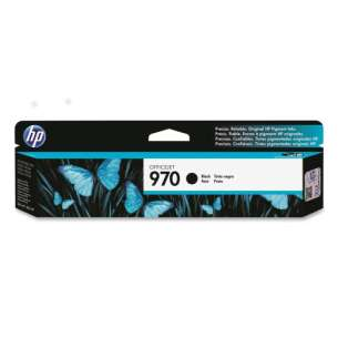 Original Hewlett Packard (HP) CN621AM (HP 970 ink) inkjet cartridge - black cartridge