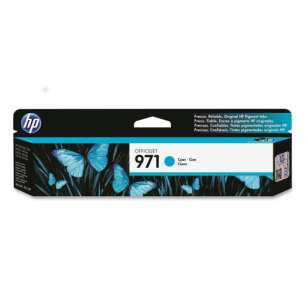 Original Hewlett Packard (HP) CN622AM (HP 971 ink) inkjet cartridge - cyan