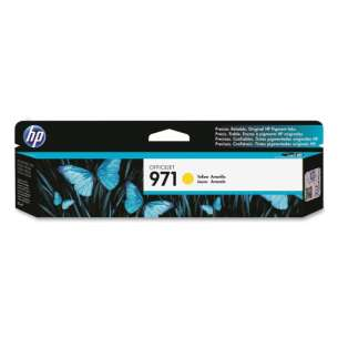 Original Hewlett Packard (HP) CN624AM (HP 971 ink) inkjet cartridge - yellow