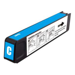 Premium ink cartridge replacement for HP 971XL - high yield cyan - Made in the USA