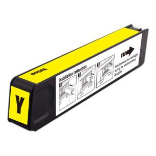 Premium ink cartridge replacement for HP 971XL - high yield yellow - Made in the USA