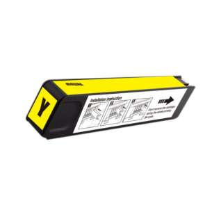 Remanufactured HP D8J09A (HP 980 ink) inkjet cartridge - yellow