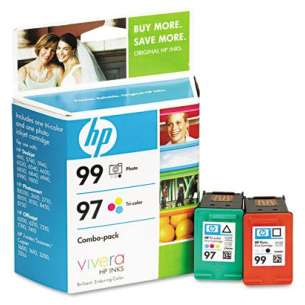 Original Hewlett Packard (HP) C9517FN (HP 99/97) Multipack - 2 pack