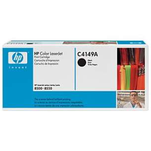 Original Hewlett Packard (HP) C4149A toner cartridge - black cartridge