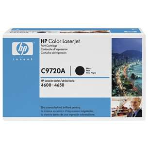 Original Hewlett Packard (HP) C9720A (641A) toner cartridge - black cartridge