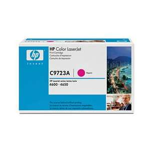 Original Hewlett Packard (HP) C9723A (641A) toner cartridge - magenta