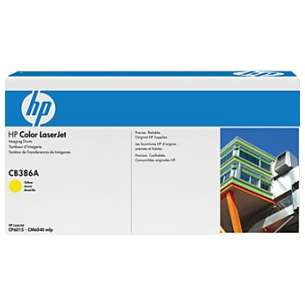Original Hewlett Packard (HP) CB386A (824A) toner drum - yellow