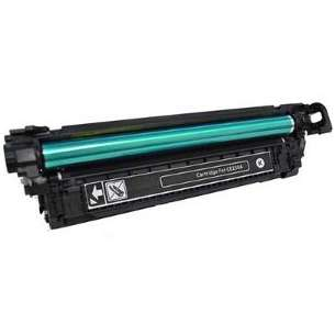 Compatible for HP CE250X (504X) toner cartridge - high capacity black