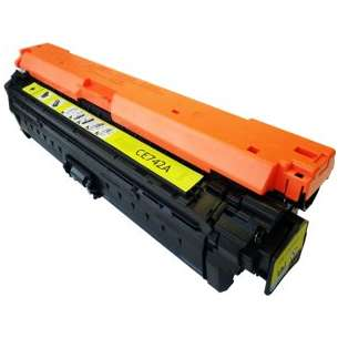 Compatible for HP CE742A (307A) toner cartridge - yellow